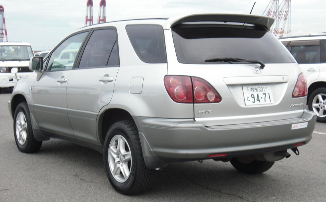 Toyota Harrier 1999 Uganda Auto Dealers Buy Sell And